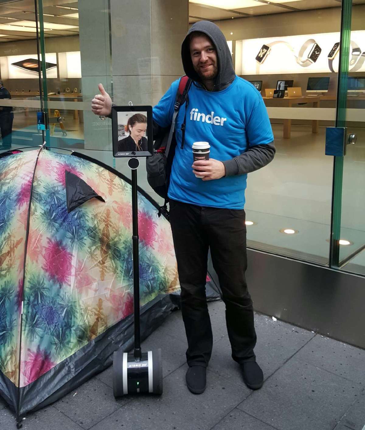 robot coada iPhone 6S 3