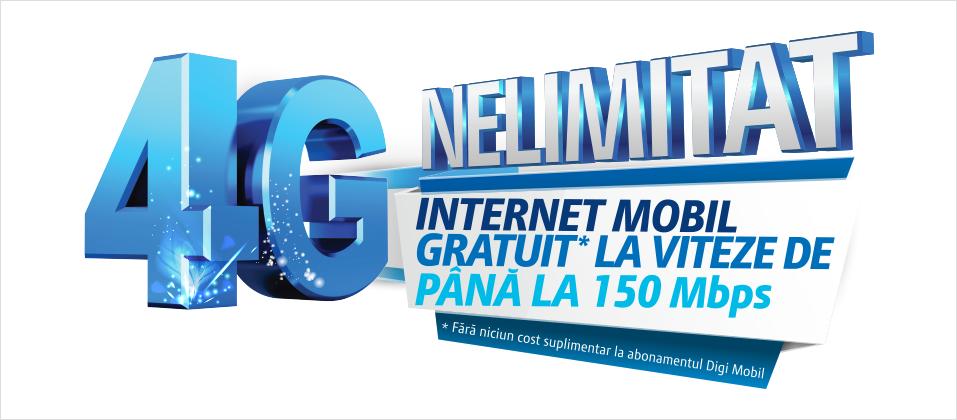 Acoperirea Digi Mobil 4G in Romania