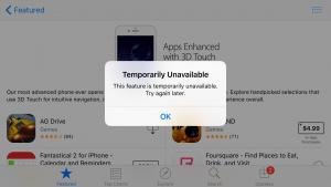 App store nu merge