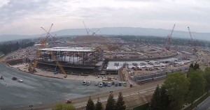 Apple Campus 2 progres constructie