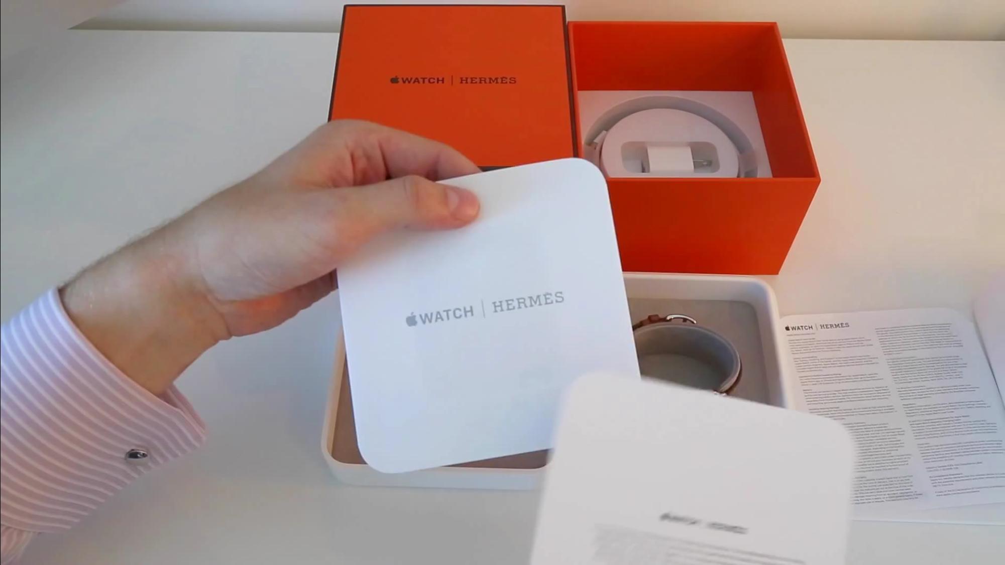 Apple Watch Hermes unboxing
