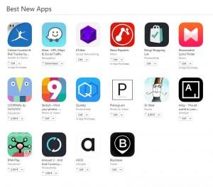 Best New Apps aplicatii