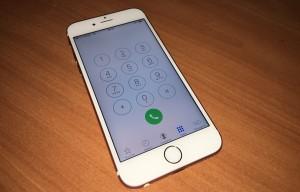 Calitatea apelurilor telefonice iPhone 6S