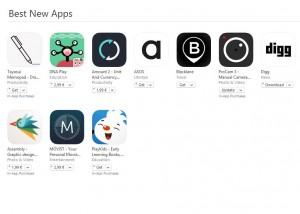Cele mai bune aplicatii noi ale App Store