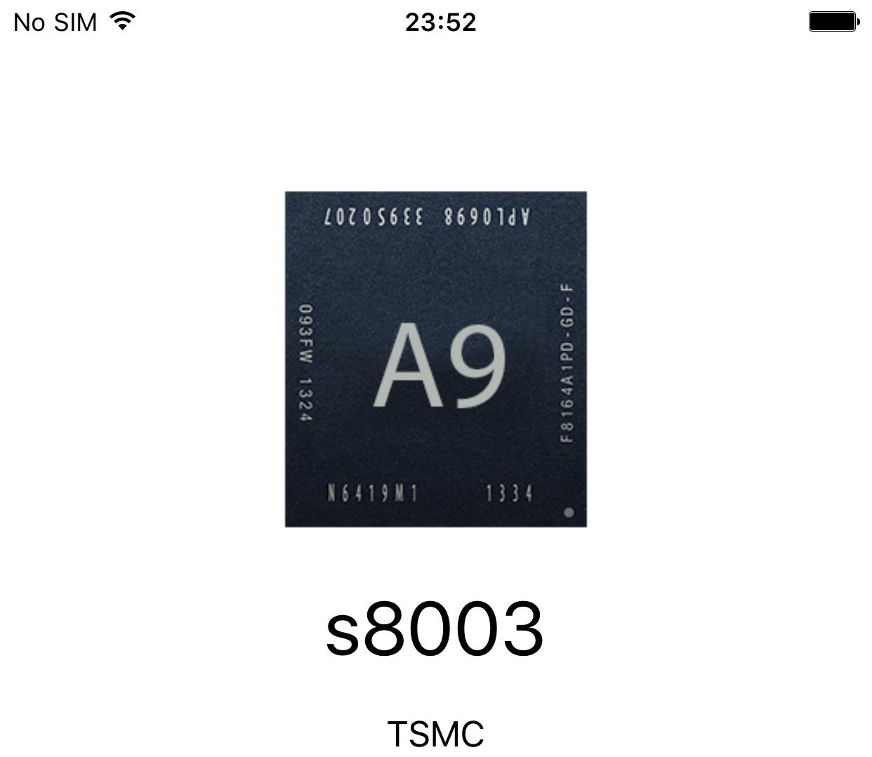Cum vad ce chip are iPhone 6S inainte de achizitie