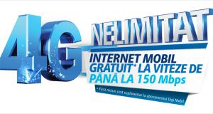 Digi Mobil 4G internet nelimitat