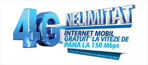 Digi Mobil 4G nelimitat gratuit 150 Mbps