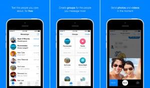Facebook Messenger actualizare watchOS 2 iOS 9