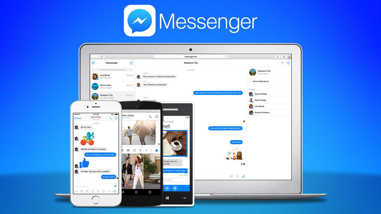 Facebook Messenger dependenta