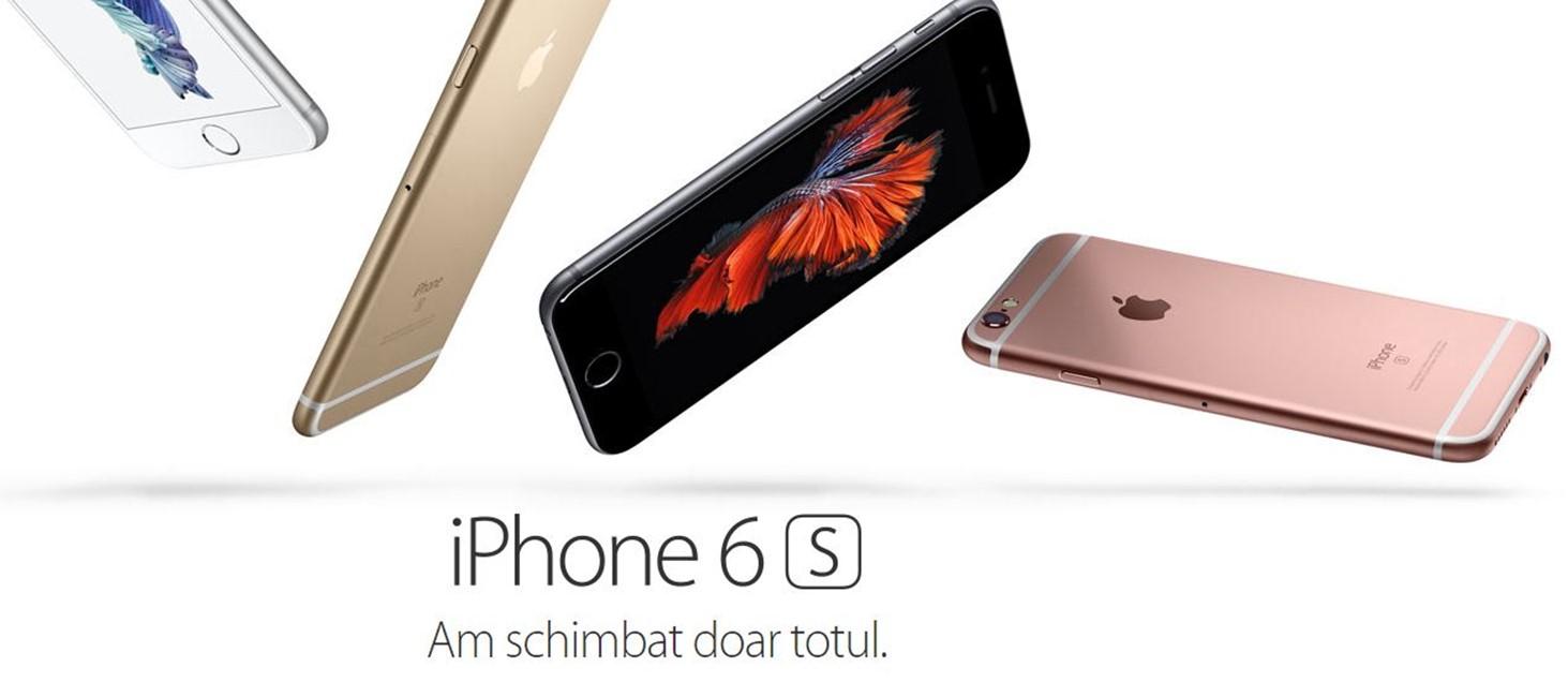 Lansarea iPhone 6S in Romania