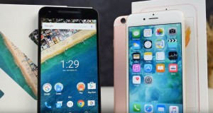 Nexus 5X vs iPhone 6S comparatie detaliata