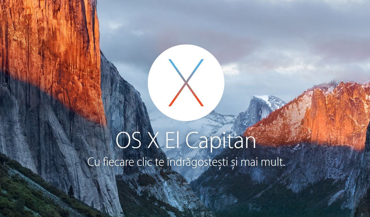 OS X El Capitan 10.11.1 beta 3