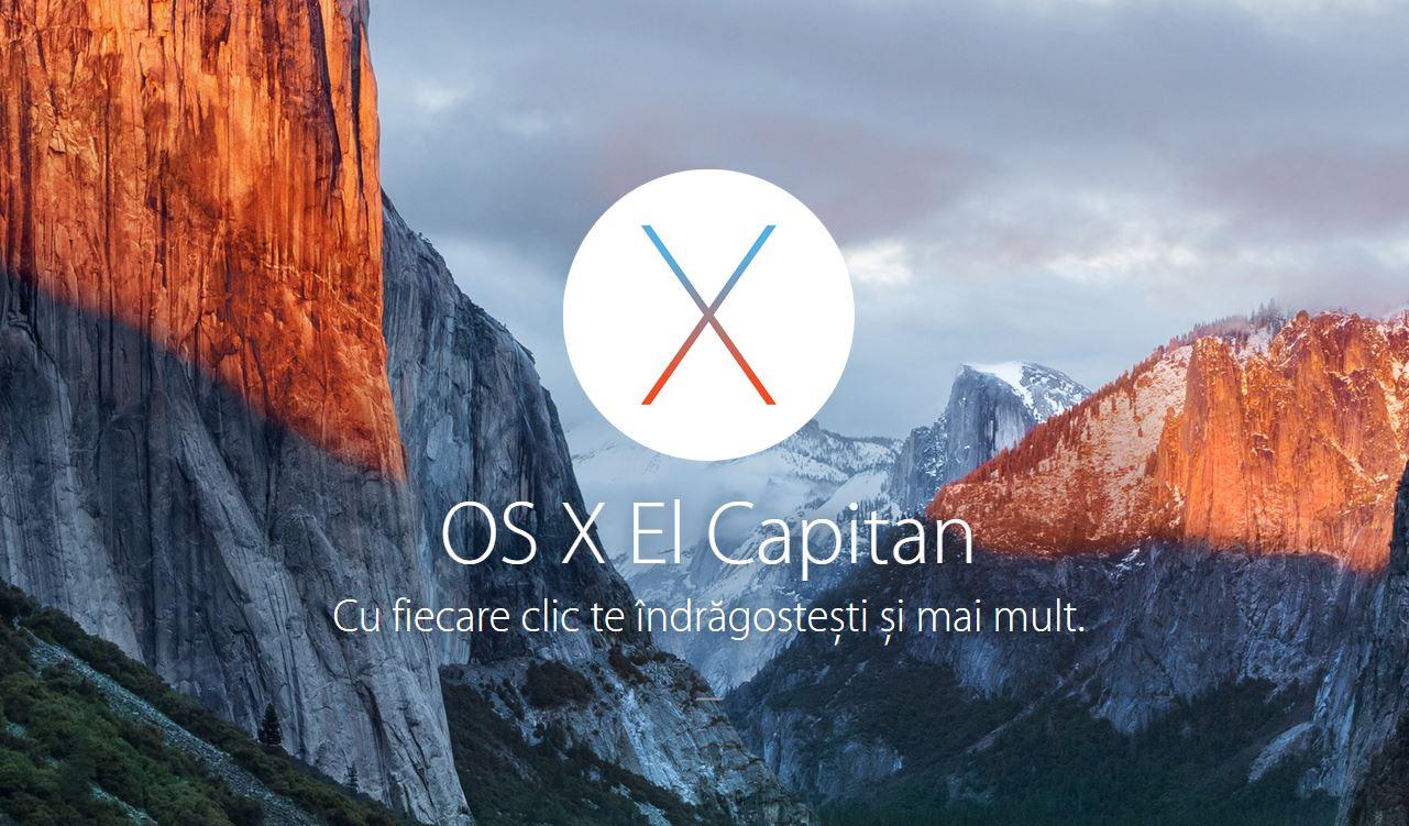 OS X El Capitan 10.11.1 beta 3