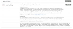 OS X El Capitan 10.11.1 beta 4
