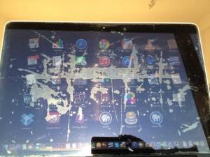 Problema ecran Mac laminare