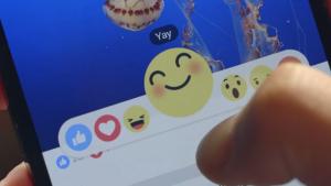 Reactii Facebook - cum arata butoanele Love, Sad, Angry si nu numai