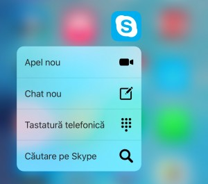 Skype 3D Touch