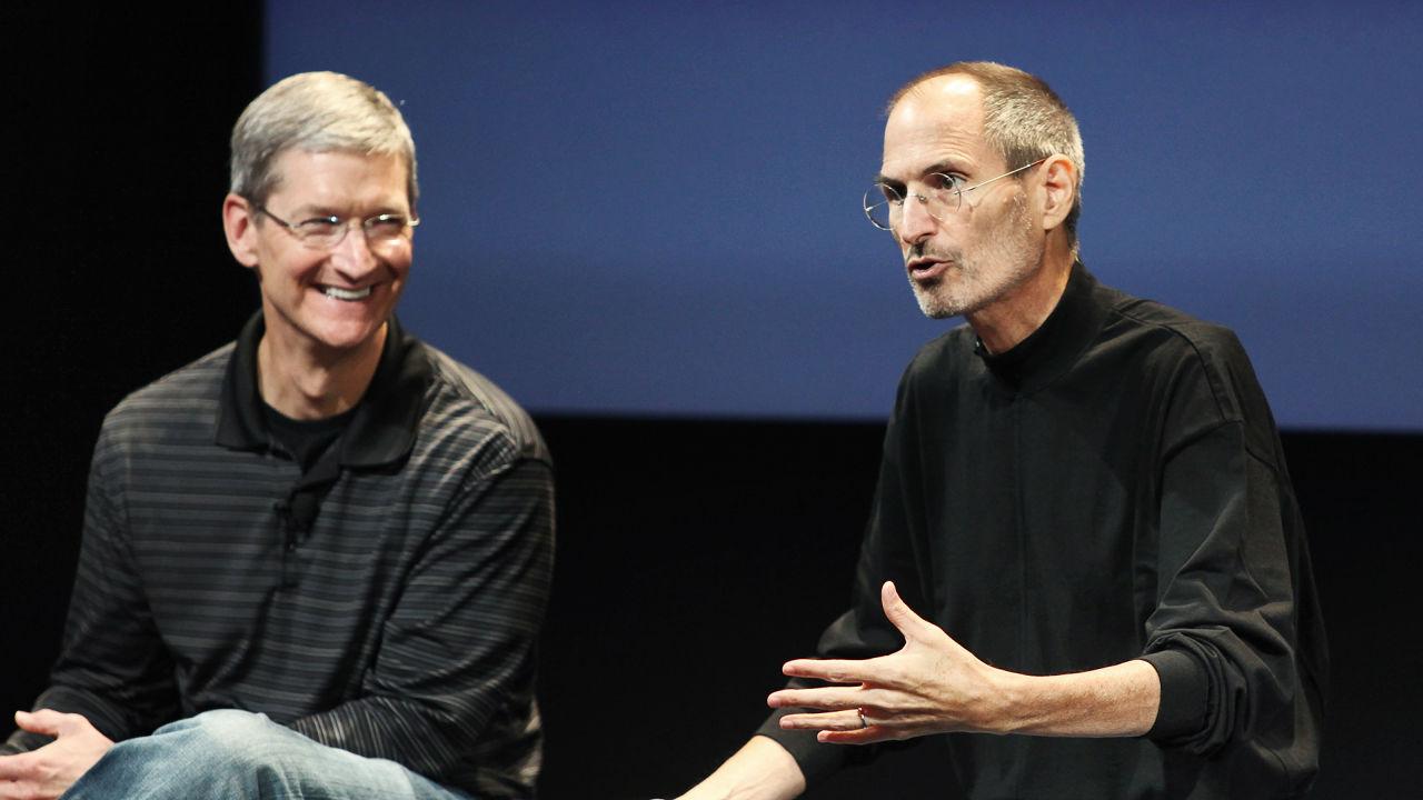Tim Cook Steve Jobs omagiu
