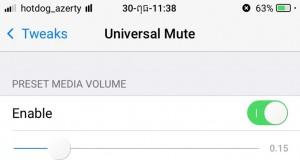Universal Mute