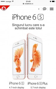 Vodafone iPhone 6S Plus 5.7 inch