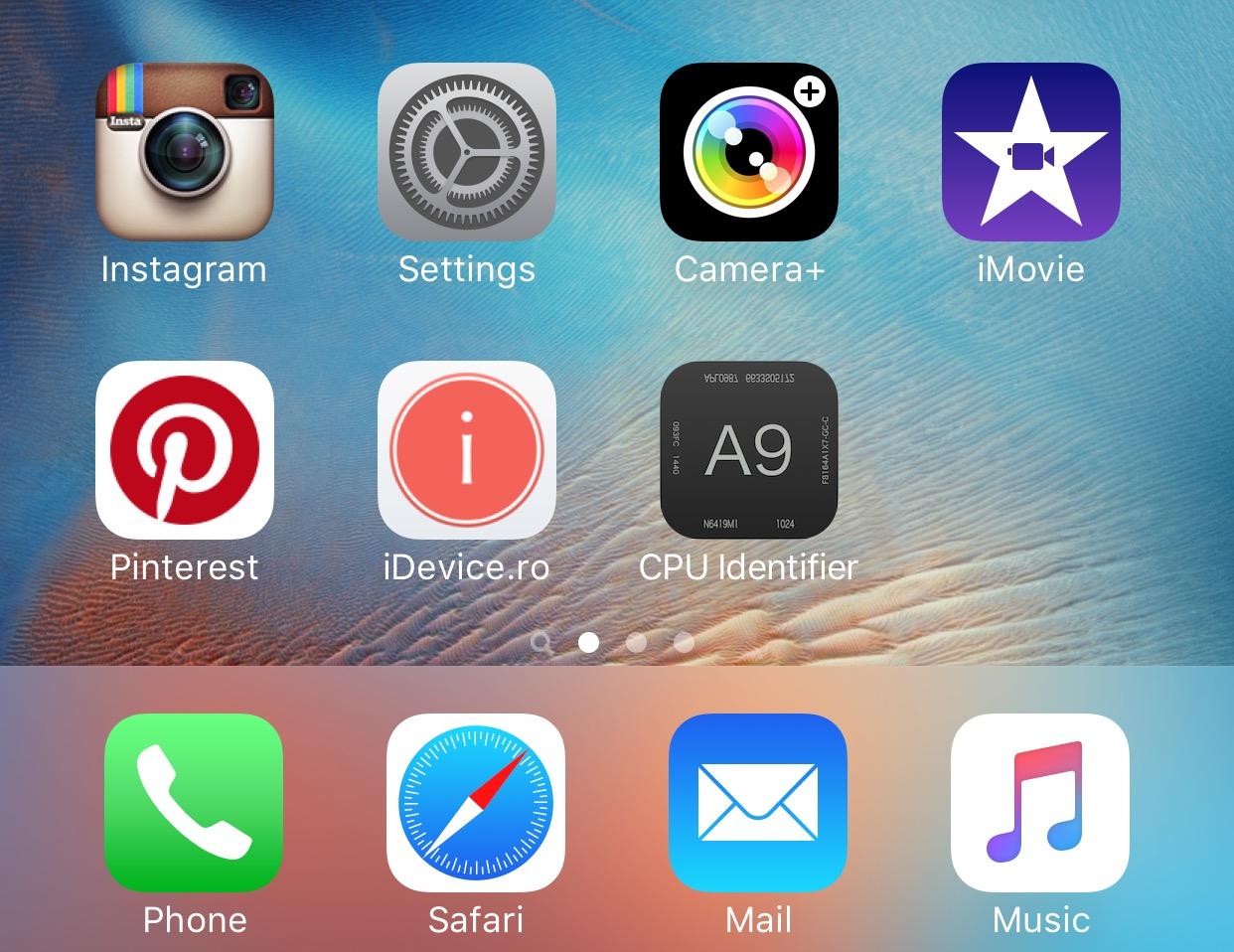 ala ce chip A9 ai iPhone 6s