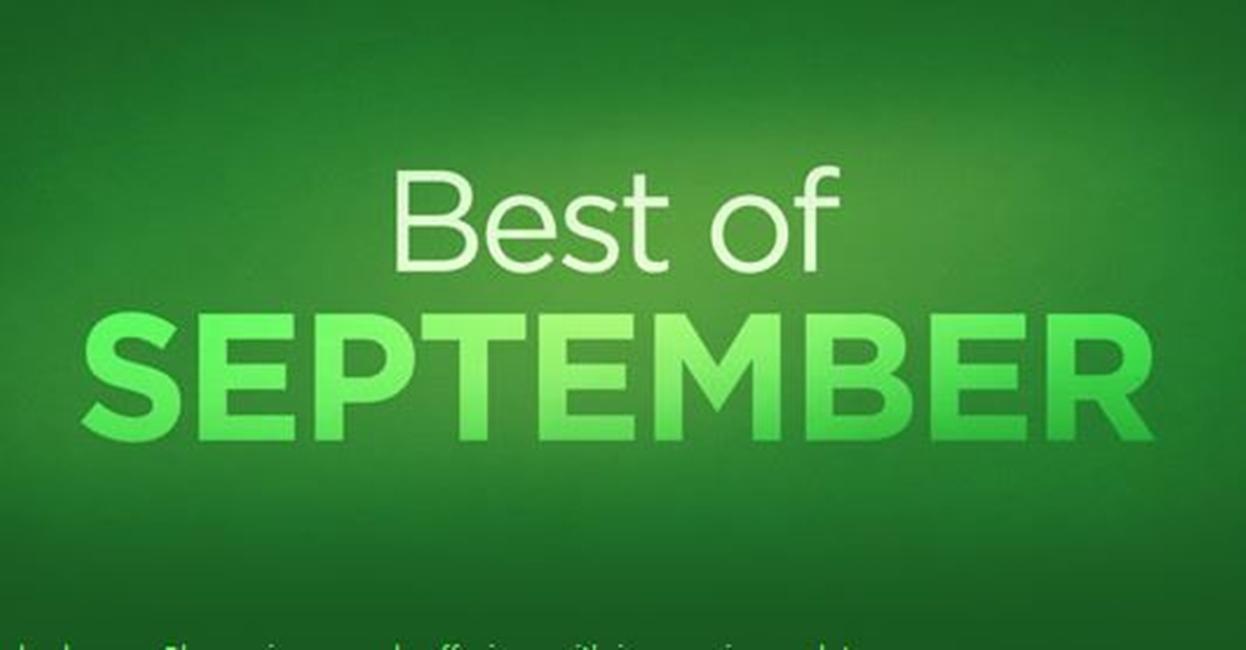 cele mai bune aplicatii din Septembrie