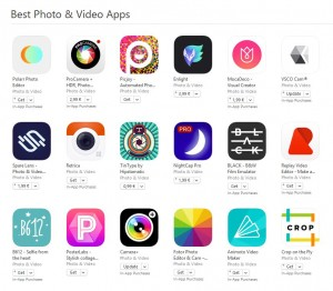 cele mai bune aplicatii foto