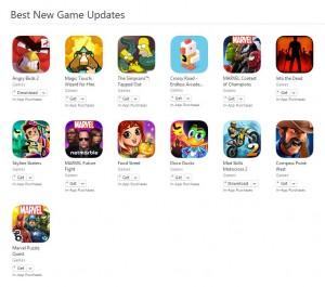 cele mai bune jocuri actualizate