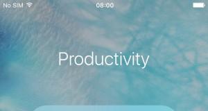 faci foldere in foldere iOS 9.0.2