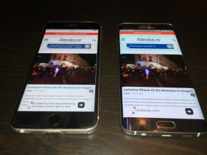 iDevice.ro test iPhone 6S Plus Samsung Galaxy S6 Edge Plus test performante