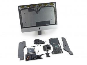 iMac 4K 21.5 inch dezasamblat