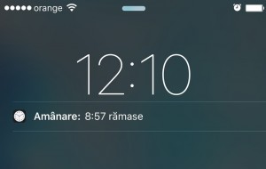 iOS 9 amanare alarma 9 minute