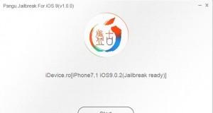iOS 9 jailbreak Pangu9 se blocheaza