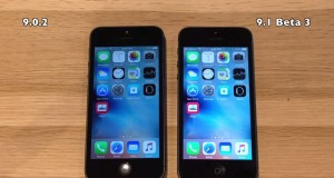 iOS 9.0.2 vs iOS 9.1 beta 3 pe iPhone 5 si iPhone 4S
