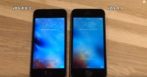iOS 9.1 vs iOS 9.0.2 iPhone 5S, 5, 4S test performante