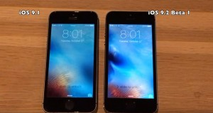 iOS 9.2 beta 1 vs iOS 9.1