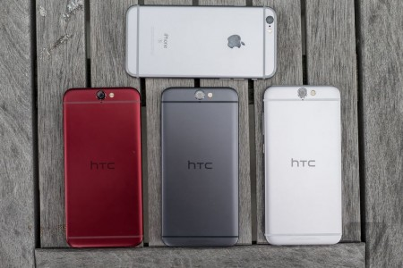 iPhone 6 vs HTC One A9 comparatie design 4