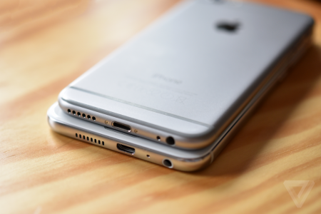 iPhone 6 vs HTC One A9 comparatie design 3