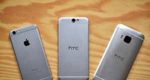iPhone 6 vs HTC One A9 comparatie design