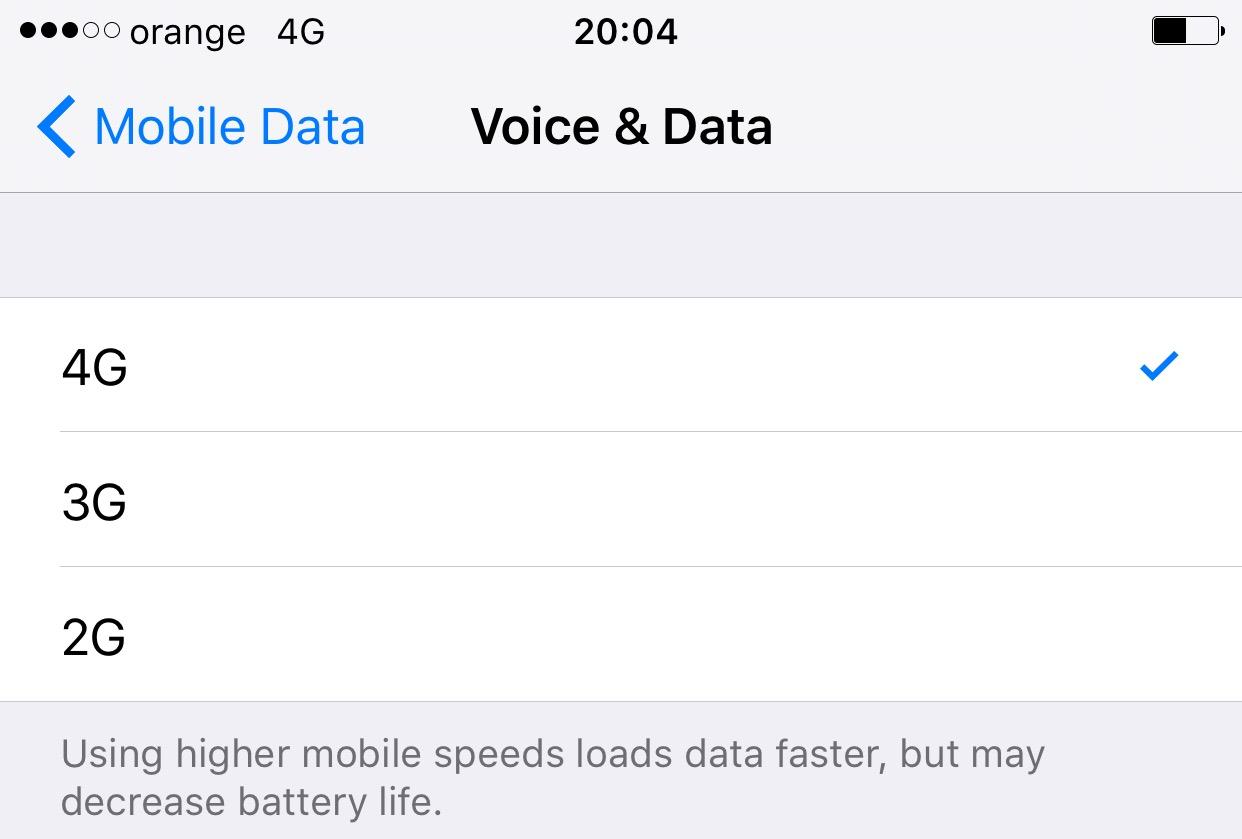 iPhone 6S 4G plus Romania