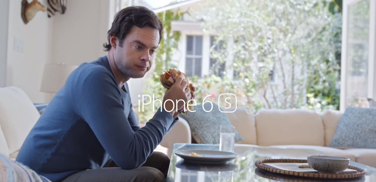 iPhone 6S Siri Bill Hader