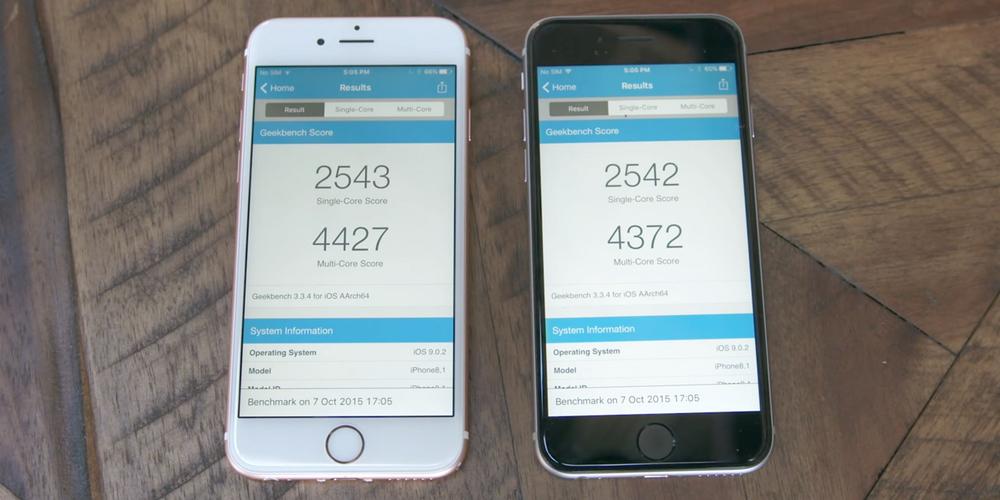 iPhone 6S cu chip TSMC are autonomie mai buna