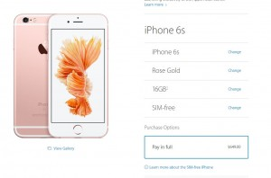 iPhone 6S decodat Apple