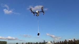 iPhone 6S drop test 300 metri drona