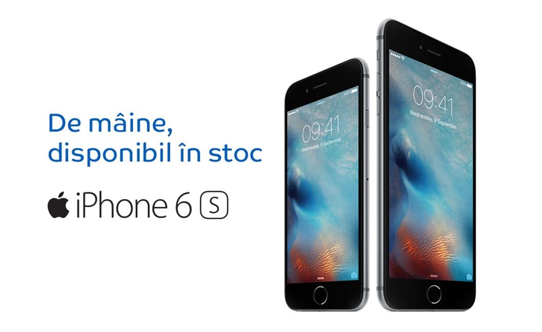 iPhone 6S stoc livrari eMAG