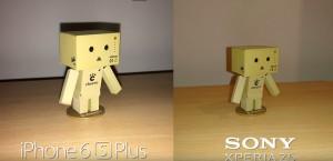 iPhone 6s Plus vs Sony Xperia Z5 - comparatia camerelor