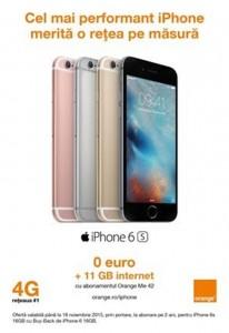 iPhone gratuit Orange performante
