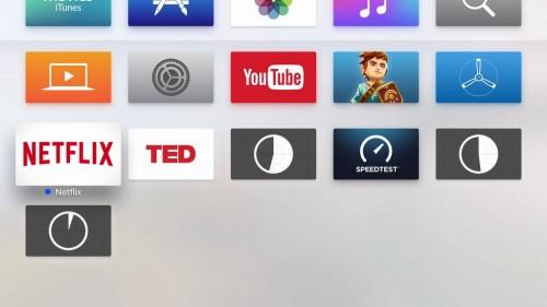 instalare aplicatii Apple TV 4