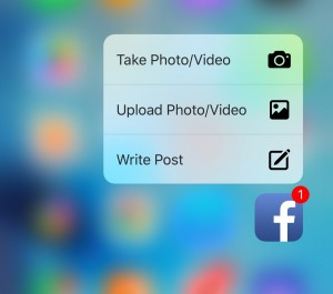 limitare 3D Touch