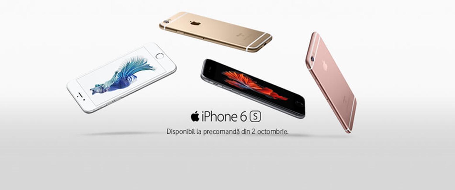 precomenzi iPhone 6S si iPhone 6S Plus Romania